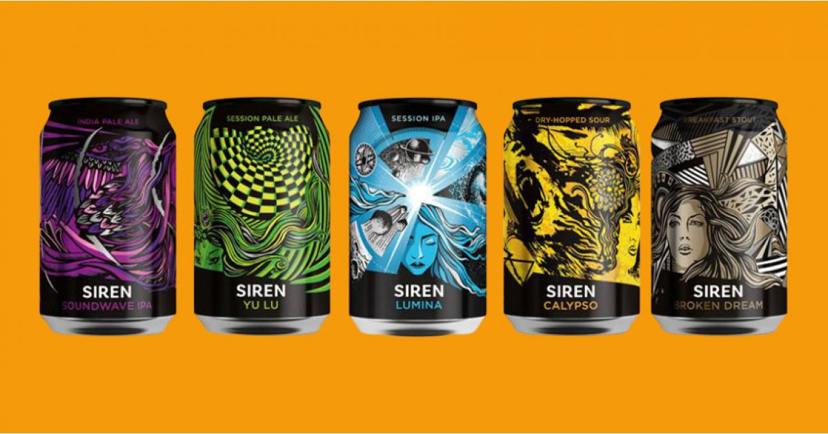WIN! A year's worth of beer, courtesy of Siren Craft Brew