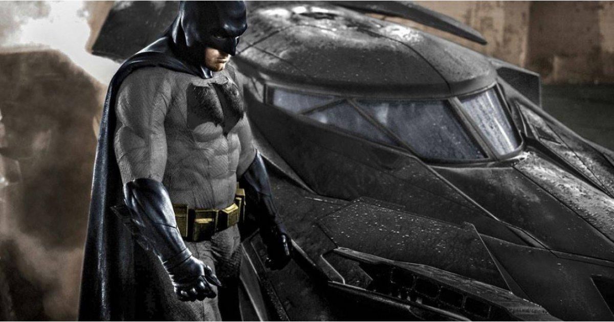 Ben Affleck is back as Batman, as new Bat logo is revealed