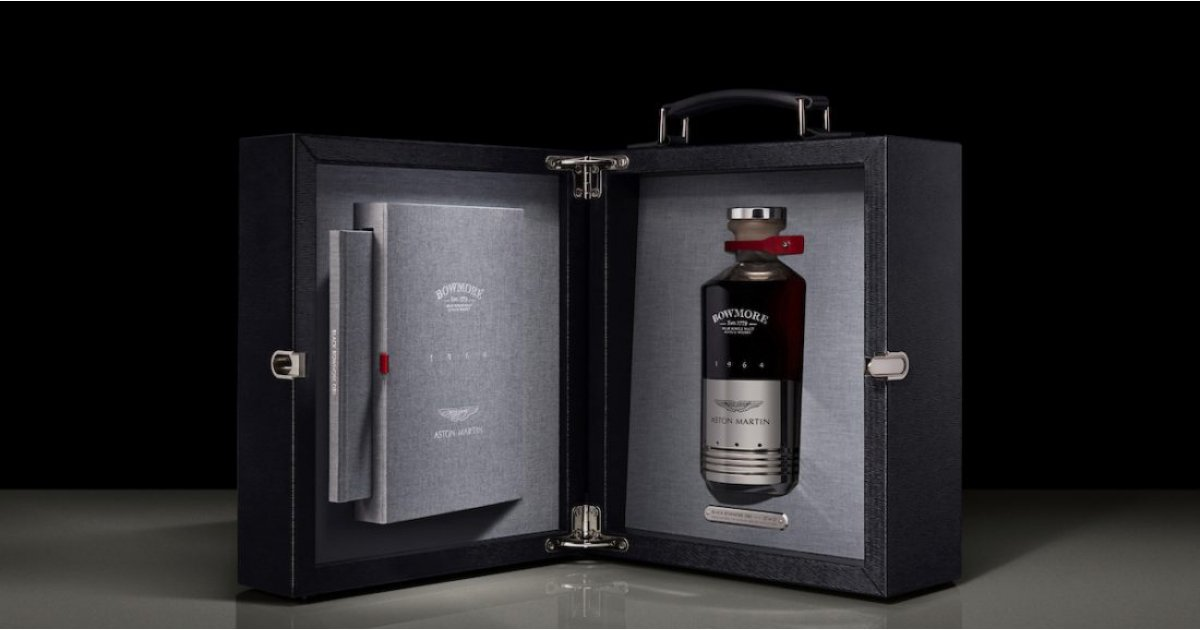 Black Bowmore DB5 1964 whisky is coming soon and will set you back £50k