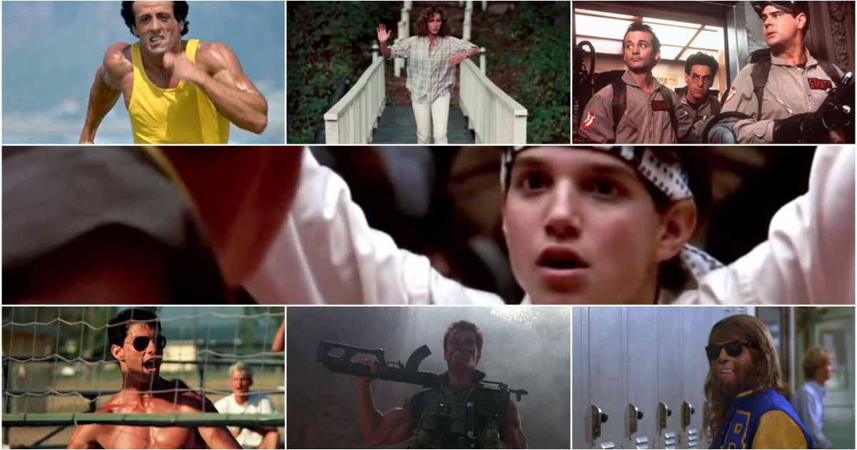 10 best '80s movie montages and amazing '80s movies