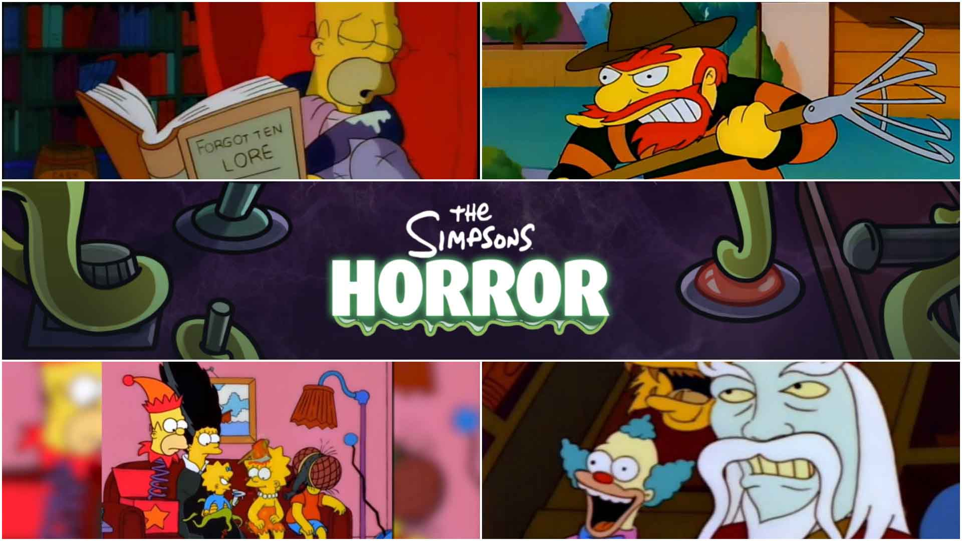 Best Simpsons Treehouse Of Horror Episodes Great Pop Culture References