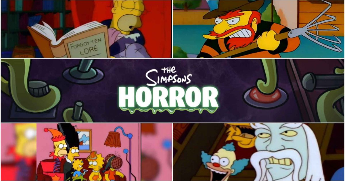 Best Simpsons Treehouse of Horror episodes: great pop culture references