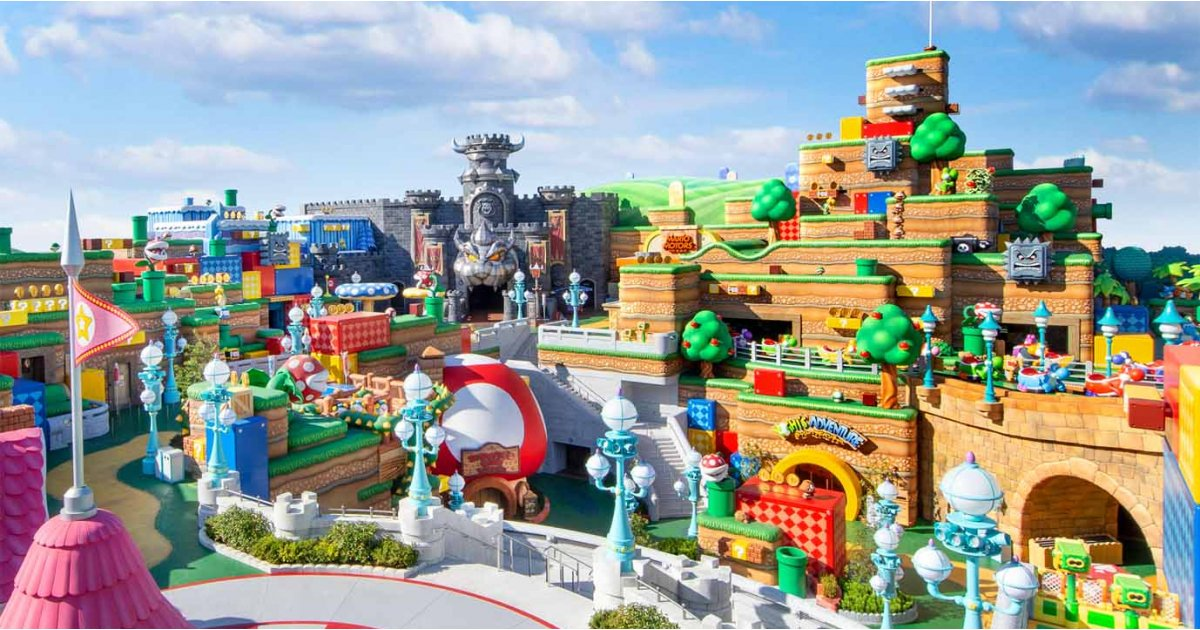 Super Nintendo World theme park: details revealed - plus more Nintendo goodies!
