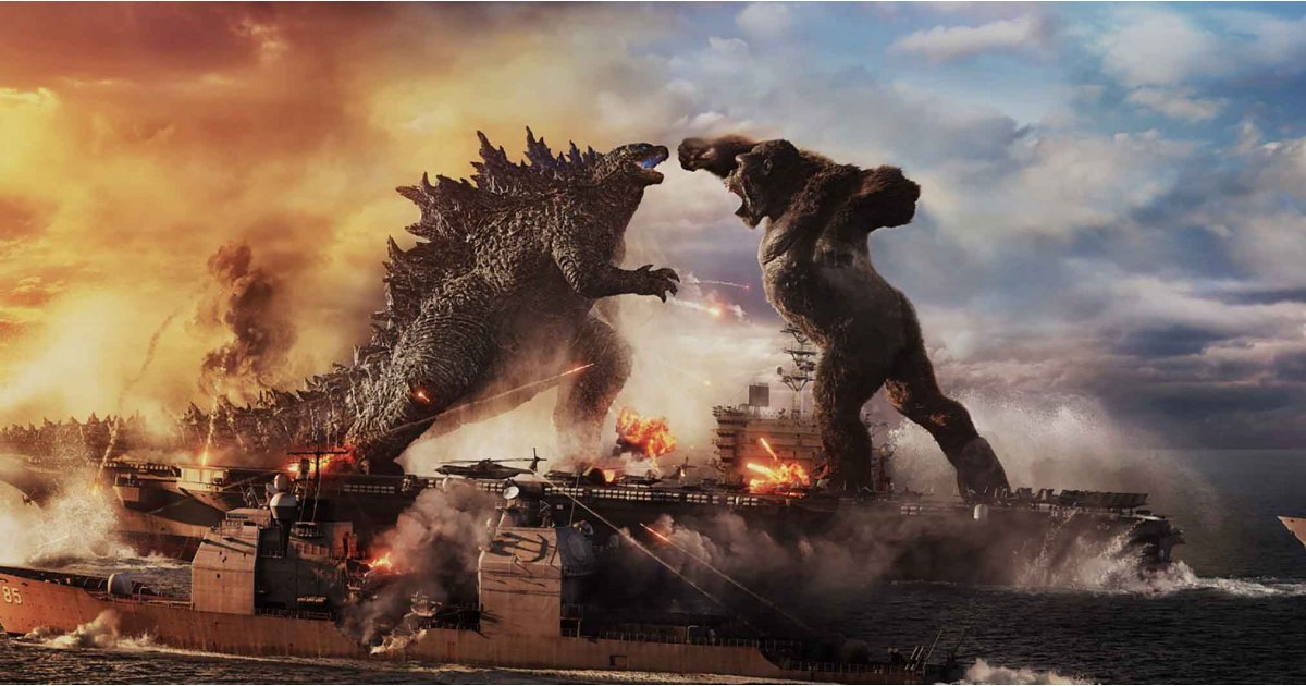 Watching King Kong punch Godzilla in the face is the best thing you'll see today