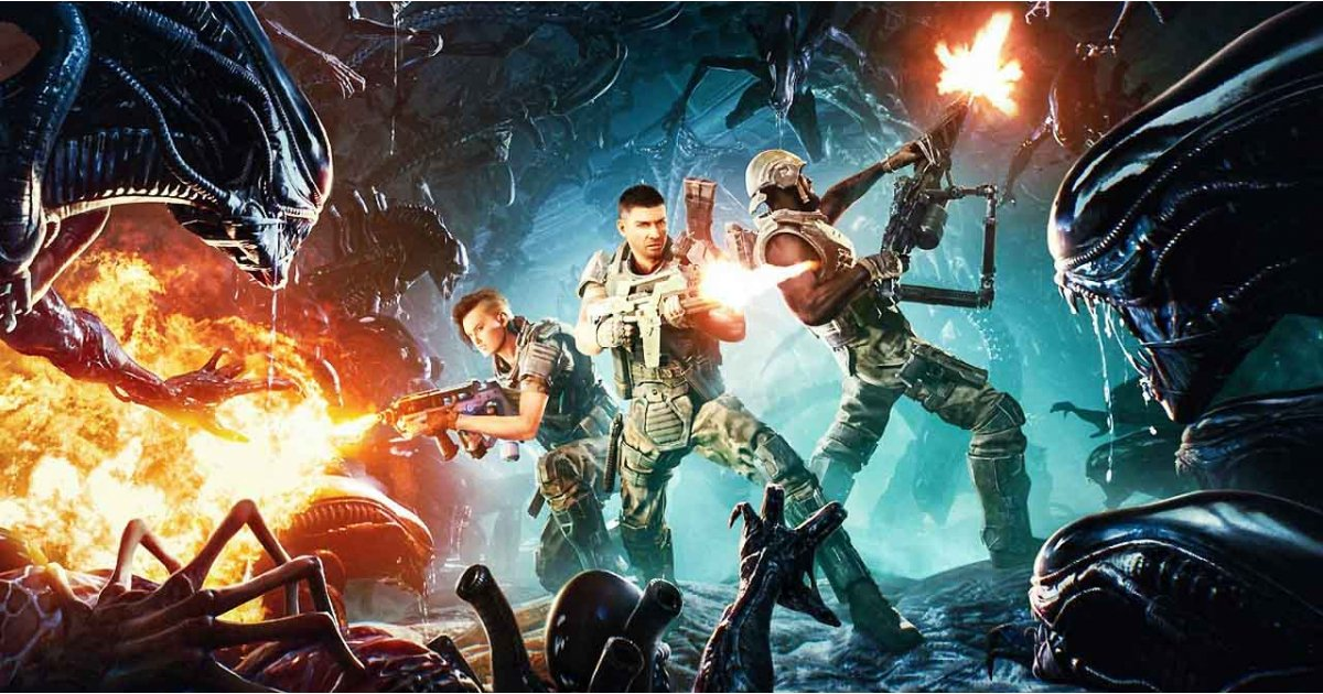 There's a new Aliens game coming and it looks exactly like the movie