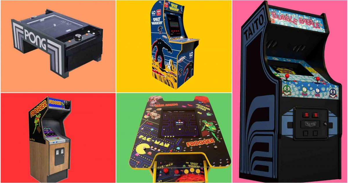 Best arcade cabinets: for old-school gaming action