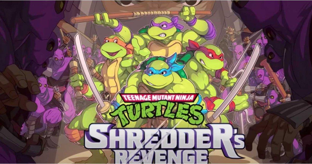 A new Teenage Mutant Ninja Turtles game looks and plays just like the original arcade classic