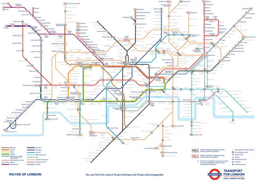 London Subway Map Russell Station.21 Great Tube Hacks That Change Absolutely Everything