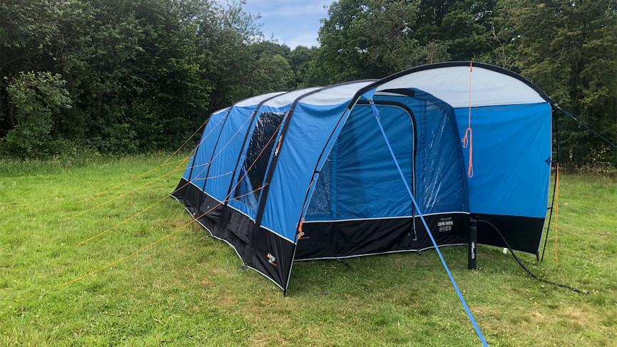 lightweight 2 man black out tent